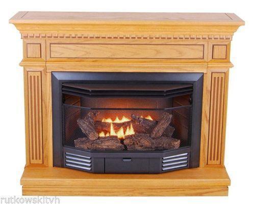 Gas Fireplace  eBay
