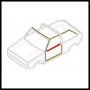 VW GOLF MK1 CABRIOLET N/S DOOR WINDOW SCRAPER RUBBER SEAL