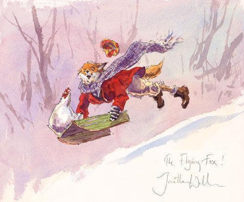 Fox Christmas Cards EBay