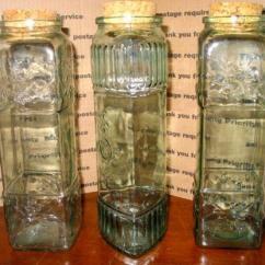 Kitchen Storage Canisters Remodel San Antonio Glass Pasta Jar | Ebay