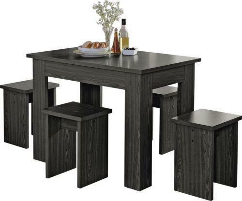 kitchen table stools farmhouse hardware dining and ebay