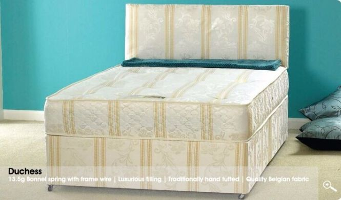 4ft6 Double Orthopaedic Divan Bed With Mattress Free Next Day Delivery Es London Call 07752278720