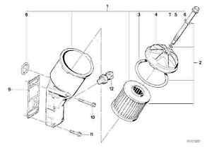 Filter Housing: E36 Oil Filter Housing Gasket