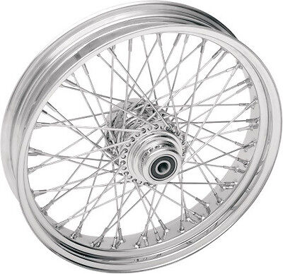 60 SPOKE BILLET HUB FRONT WHEEL 16 X 3.5 INDIAN CHIEF