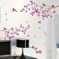 Tree Branches Birds Wall Art / Wall Stickers / Wall Decals ...