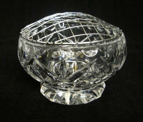 Cut Glass Rose Bowl  eBay