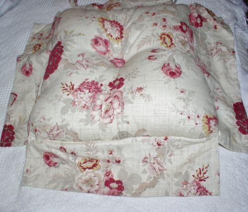 french country kitchen chair cushions wedding covers in sri lanka vintage pads | ebay