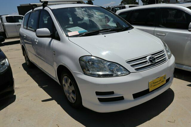 2007 Toyota Avensis Verso ACM21R GLX White 4 Speed Automatic Wagon | Cars. Vans & Utes | Gumtree Australia The Hills District - Castle Hill ...