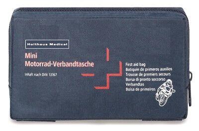 Mini Verbandtasche nach DIN 13167 für Motorrad Fahrrad Freizeit Sport