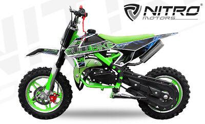 Nitro Motors Bullbike 49cc Dirtbike 10 Zoll Crossbike Crossbike Kinderbike
