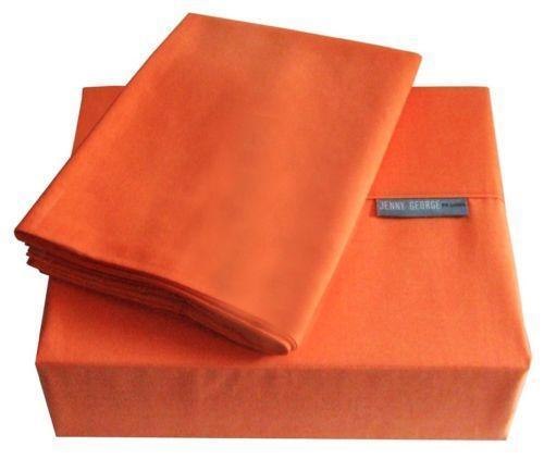 Bright Orange Bed Sheets  eBay