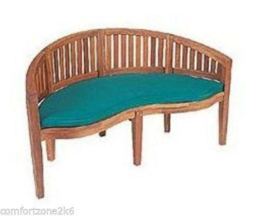 garden chair cushion covers uk patio chaise lounge bench cushions   ebay