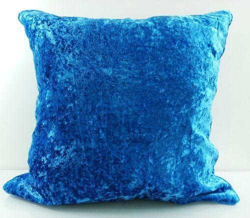 navy sofa cover replacement seat cushion covers blue velvet | ebay