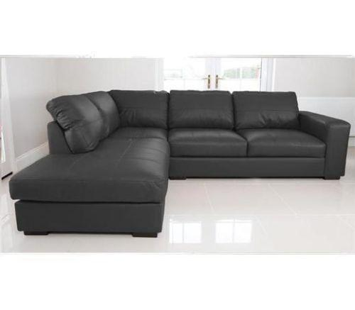 ebay uk leather corner sofa bed bernhardt sectional prices real |