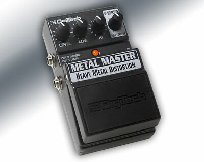 DigiTech XMM Metal Master heavy metal distortion guitar effects pedal