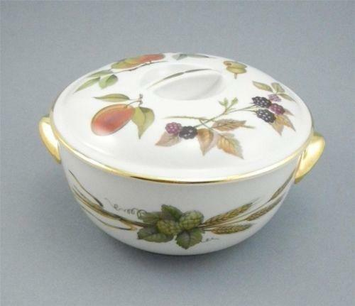 Royal Worcester Evesham Covered Casserole  eBay