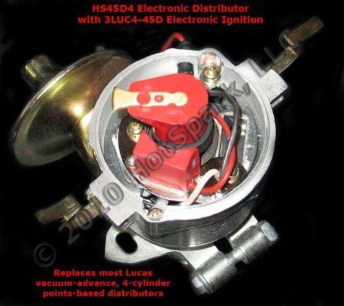 V8 Chevy Engine Wiring Diagram 1974 Lucas Distributor Ebay