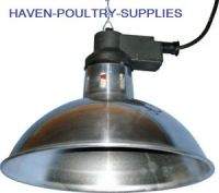 INFRARED BROODING HEAT LAMP INC 175w BULB chicks puppies ...