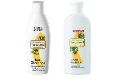 (15,96€/L)250ml Swiss O Par Teebaumöl Haarshampoo /Haarwasser tea tree oil tonic