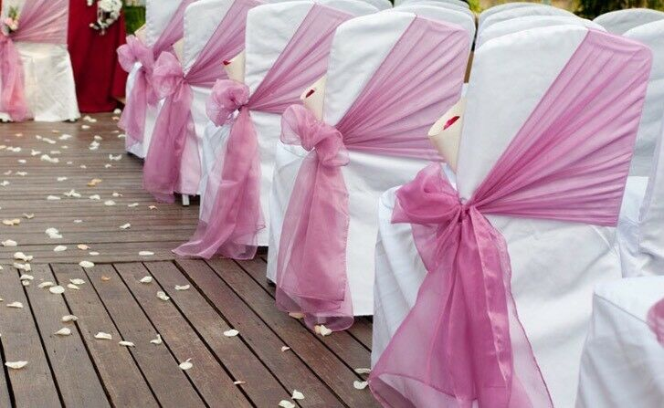 chair cover and sash hire birmingham outdoor furniture nz egg 65p cheap wedding decoration party bows https i ebayimg com 00 s ndq3wdcynw