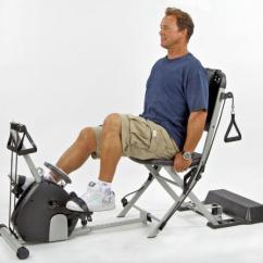 Malibu Pilates Chair Office Adjustable Height Resistance | Ebay
