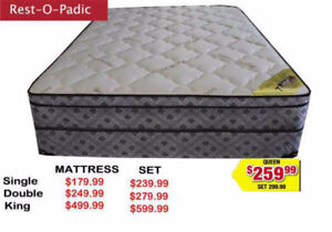 Spring Single Double Queen And King Size Mattresses