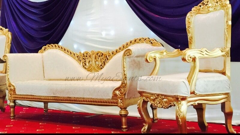 royal chairs for rent office on sale chair hire 199 black table linen cover 79p mendhi stage decoration