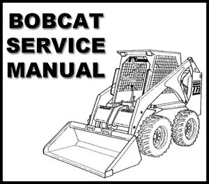 Bobcat 600 600D 610 611 Skid Steer Loader Workshop Service