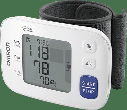 OMRON RS 4 - neues Modell - Handgelenk-Blutdruckmessgerät - neu & OVP v. med. FH