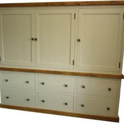 Free Standing Kitchen Larder Cupboards Corner Drawer Cabinet Cupboard | Ebay