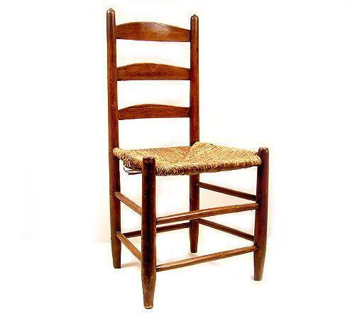 ladder back cane seat dining chairs childrens play table and ladderback rush   ebay