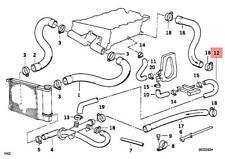 Genuine Engine Coolant pump Water Hose BMW E36 318i 318is