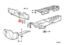 Genuine BMW M3 E30 Coupe Engine Compartment Screening