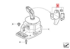 Genuine BMW E60 E61 LCI Automatic Gear Shift Cover Repair