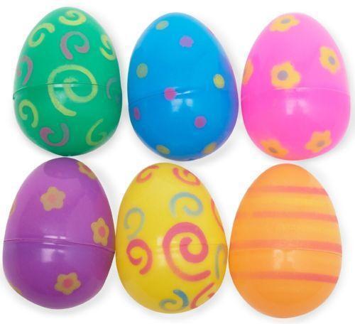 Jumbo Plastic Easter Eggs eBay