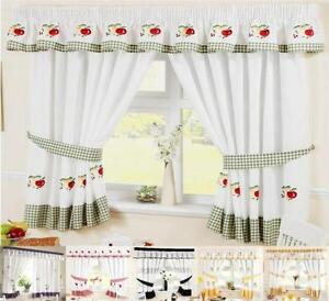 curtains for the kitchen mid century table ebay 66 x 48