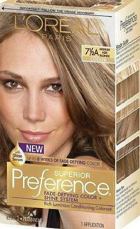loreal hair color ash blonde ebay