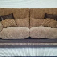Crushed Velvet Chair Folding Futon Dfs Brown Corduroy 3 Seater Sofa + | In Manchester Gumtree