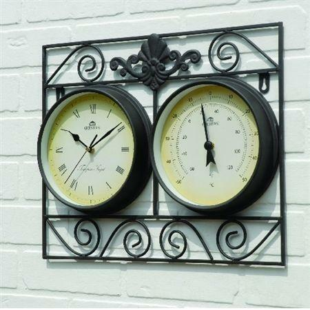 Weather Station Wall Clock  eBay