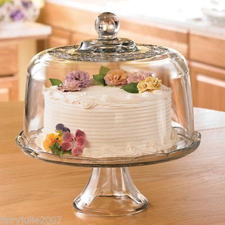 Princess House Domed Cake Plate