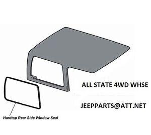 JEEP-HARDTOP-SIDE-1-4-QUARTER-GLASS-SEAL-WEATHERSTRIP-1997