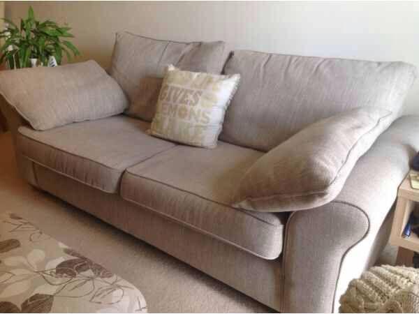 large chaise sofa dfs divani casa 4087 modern bonded leather sectional next garda capri textured weave light mink | in ...