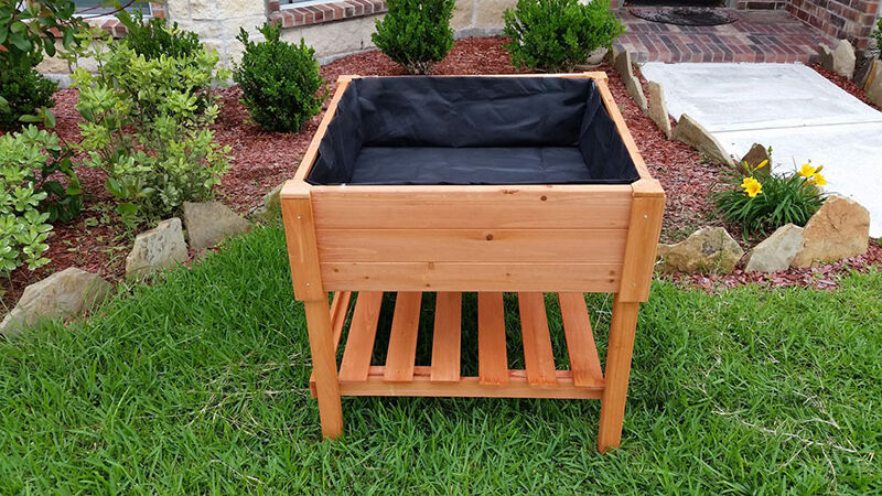 How to Make Wooden Trough Planters