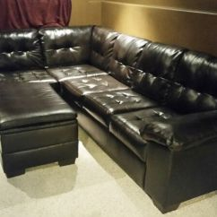Leather Sectional Sofas Brown Chenille Sofa Bonded W Storage Ottoman Couches Futons Description