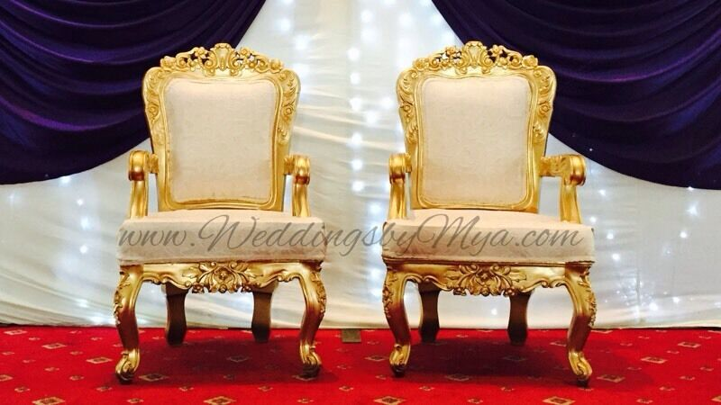 gold chair covers to rent world market blue royal wedding hire 199 cover rental 79p reception decoration packages 4 plates in shoreditch london gumtree