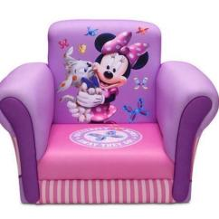 Toddler Flip Sofa Chaise Convertible Bed Minnie Mouse Chair | Ebay