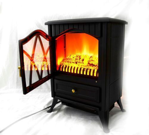 28 In Freestanding Electric Fireplace Insert Heater With For Freestanding Electric Fireplace | Ebay