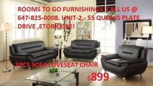 Sofa Love Seat Chair Brand New On