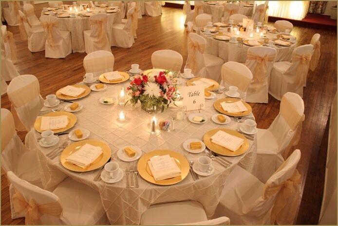 wedding chair covers gumtree cheap folding outdoor chairs charger plate hire 89p reception table setting 20p decoration £4 ...
