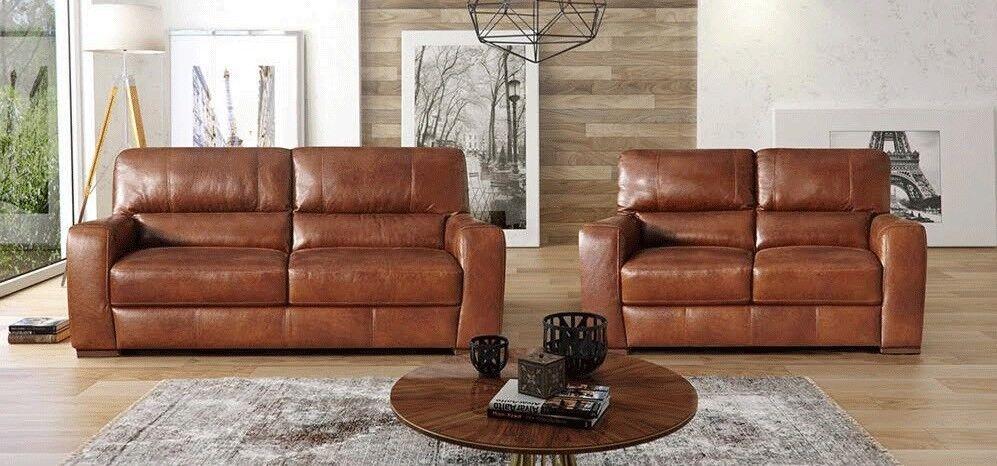 3 2 leather sofa set good deals uk scs style lucca full in erdington west